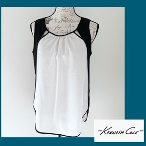 Kenneth Cole Sleeveless Tunic